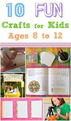 10 fun projects to connect with older kids, spend time together, and learn something new!!