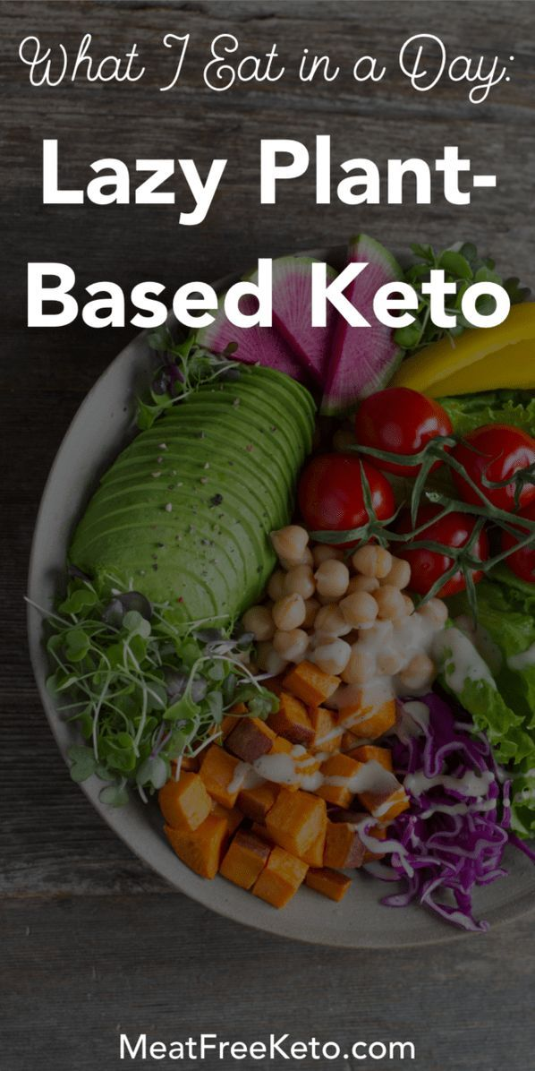 What I Eat In A Day Lazy Plant Based Keto Meat Free Keto Vegan Keto Recipes Vegan Keto Recipes Vegan Keto Diet Vegan Meal Plans