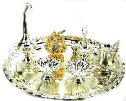 1000 Images About Silver Puja Items On Pinterest