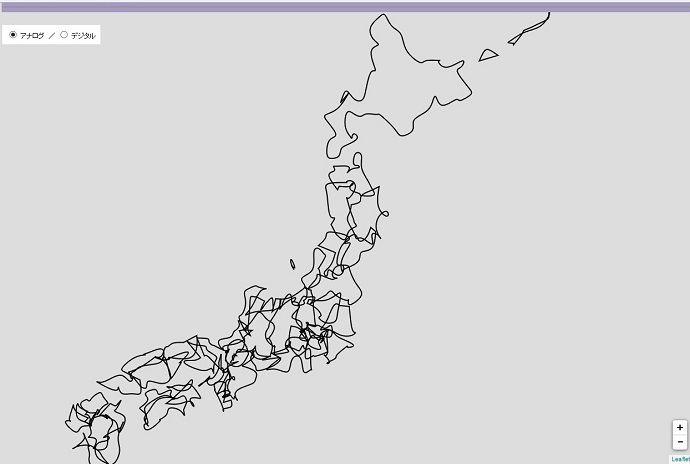 Leaflet.jsとD3.jsを使って手書き風の地図を表示する