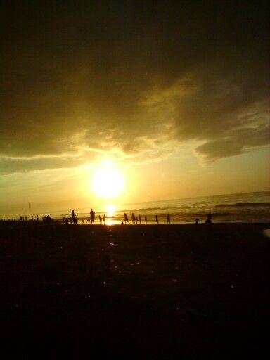 Cilacap beach, Indonesia