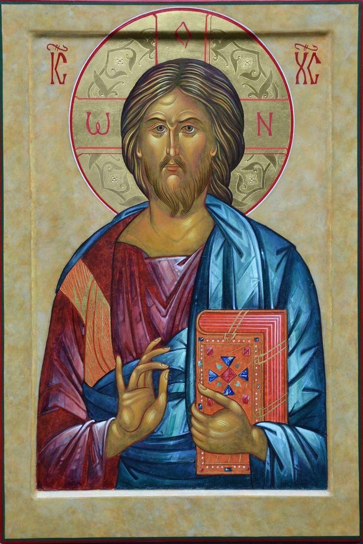 Christus Pantokrator 60x40cm. 2015