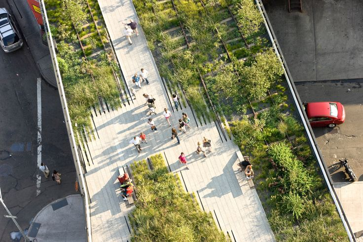 Life Around Us: The HighLine Park of New York