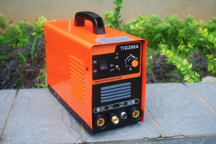 Soldadora TIG 200 welder inverter 200amp Mosfet tig welding machine
