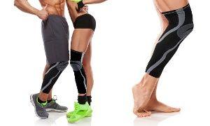 Uniform Knee and Calf Compression Sleeve