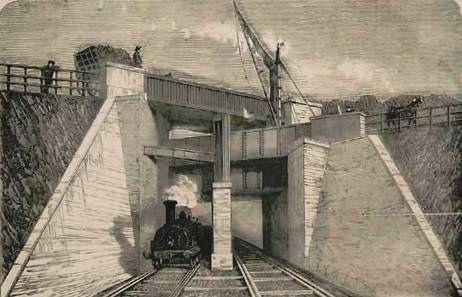 3 bridges, Brunel.   Road over canal over rail. Windmill Bridge, Southall, London, W7 3ST