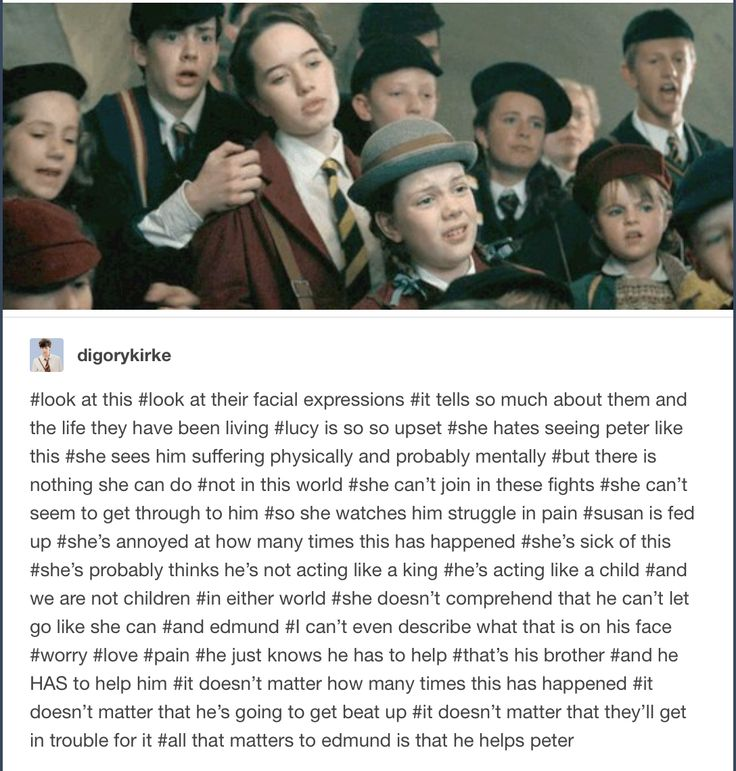 The Pevensie siblings are my favorite in fiction, and represent a lot of what I believe a family should be like