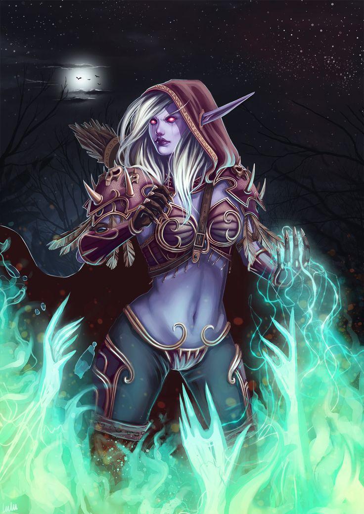 World of Warcraft: Sylvanas Windrunner - lulu-lamm