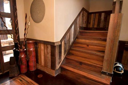 reclaimed wainscoting ideas salvage style pinterest flats
