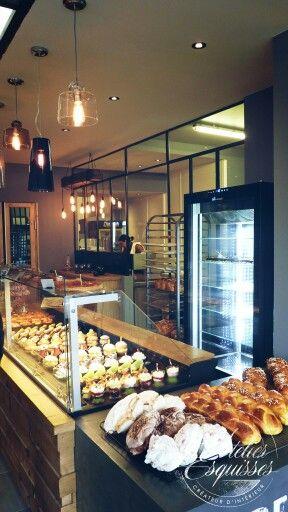 Boulangerie style industriel / factory bakery