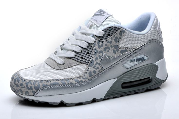 cheetah print air maxx   nike air max 90 womens leopard print white silver