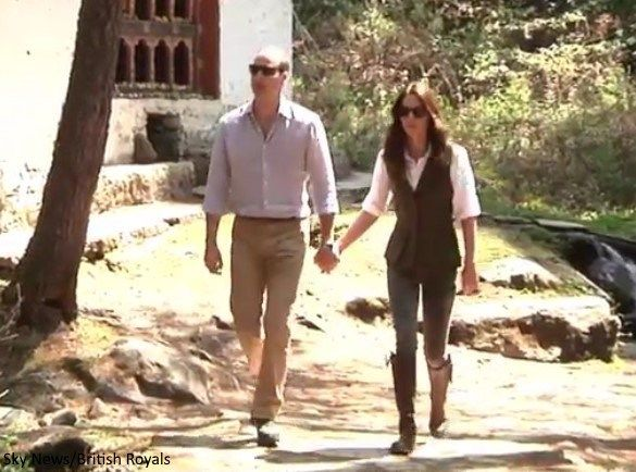 Duchess Kate: William and Kate Tackle Six-Hour Hike to Tiger's Nest