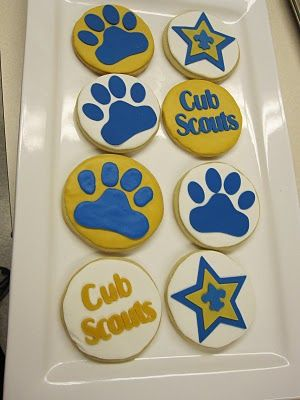 Cakes and Cookies by Andrea: Cub Scout Cookies