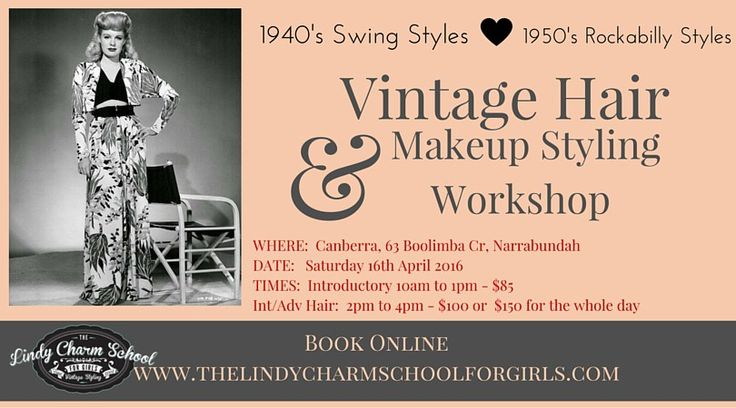 1940's Swing Styles and 1950's Rockabilly Styles Covered! Canberra here we come..
