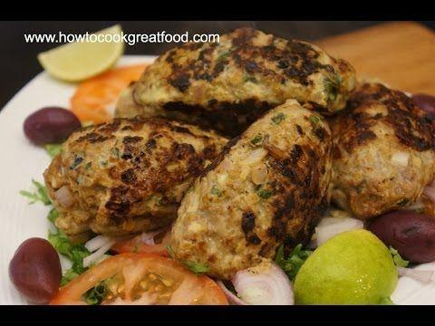 Beef Kofta Kebab Recipe   Kabab Kofte Koobideh Arabic Middle Eastern Coo...