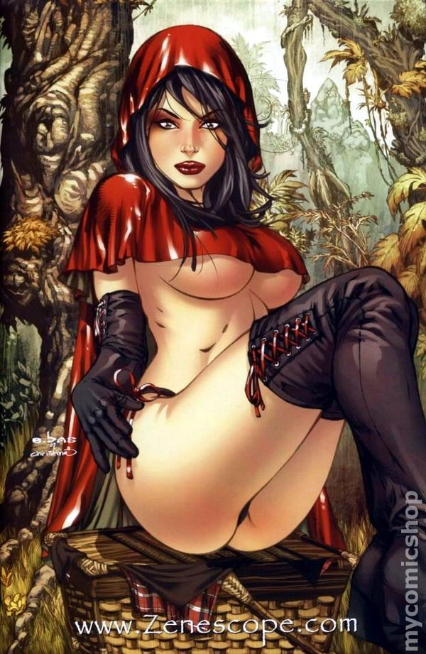 Does not Sexy nude little red riding hood