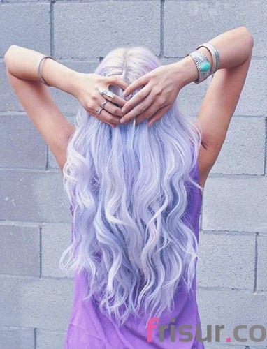 15. Gefärbt Lavender Hair Style