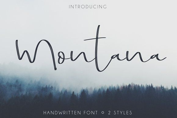 Montana by Mellow Design Lab on @creativemarket
