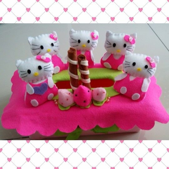 Hello Kitty Tissue Box
