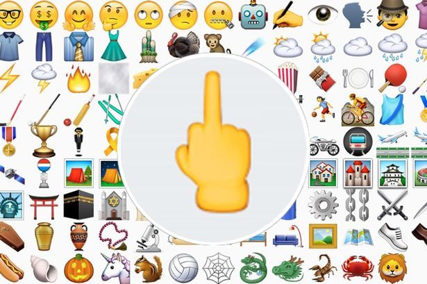 New iPhone Update Will Finally Give Us A Middle Finger Emoji - http://www.sqba.co/culture/new-iphone-update-will-finally-give-us-a-middle-finger-emoji-2/