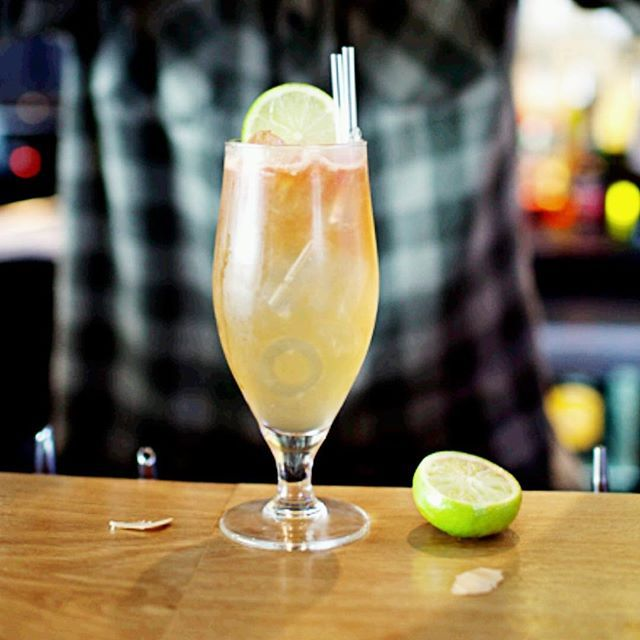 HELMSMAN DARK AND STORMY . 60ml. Helmsman Spiced Rum  15ml. Freshly squeezed lime juice  10ml. Demerara Sugar syrup Dark ginger beer  Fresh ginger Lime to garnish . The Way To Create: Combine Helmsman rum, lime juice, sugar syrup and fresh ginger in a mixing glass; set aside. Fill a highball glass with ice, add the rum/syrup mixture then top off with ginger beer and stir before serving.  Devilishly delicious. . #HelmsmanRum  #SpicedRum #TakeTheHelm #Cocktails