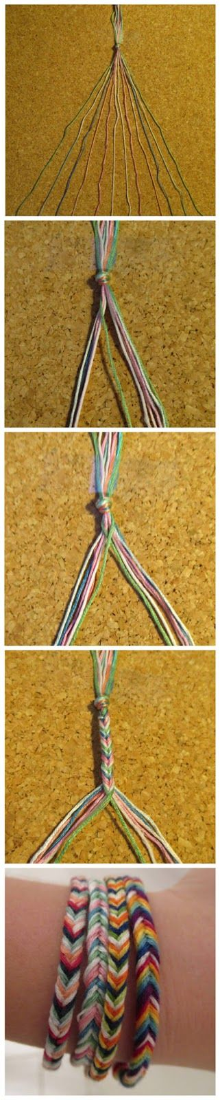 joybobo: A Fishtail Friendship Bracelet
