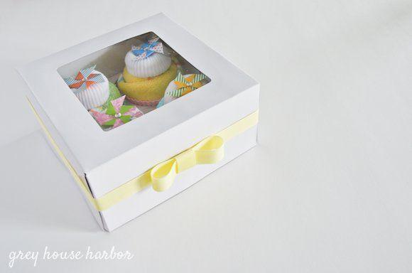 How to make washcloth cupcakes  greyhouseharbor.com