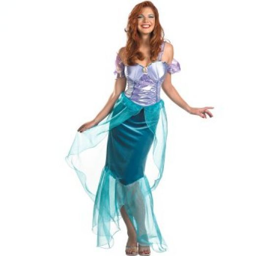 Ariel costume  http://barnaclebill.hubpages.com/hub/adulthalloweencostumes