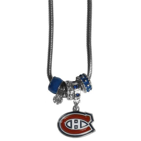 Montreal Canadiens® Euro Beaded Necklace