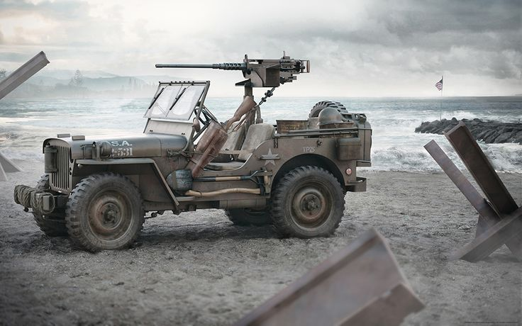 Jeep Willys by Ernest Kośka