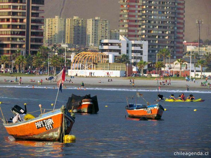 Playa Cavancha, Iquique
