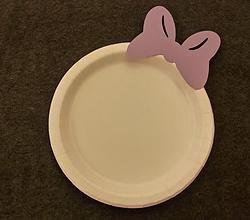 Daisy Duck Birthday Party Cake Plate