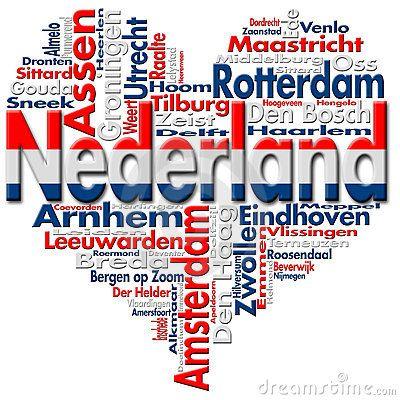 Ik hou van Nederland. I love The Netherlands !