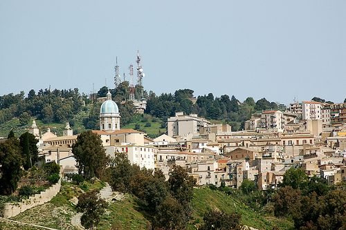 Caltanissetta, the second highest capital of province in Sicily after Enna, was heavily bombed during the Allied invasion of Sicily in World War II, codenamed Operation Husky.