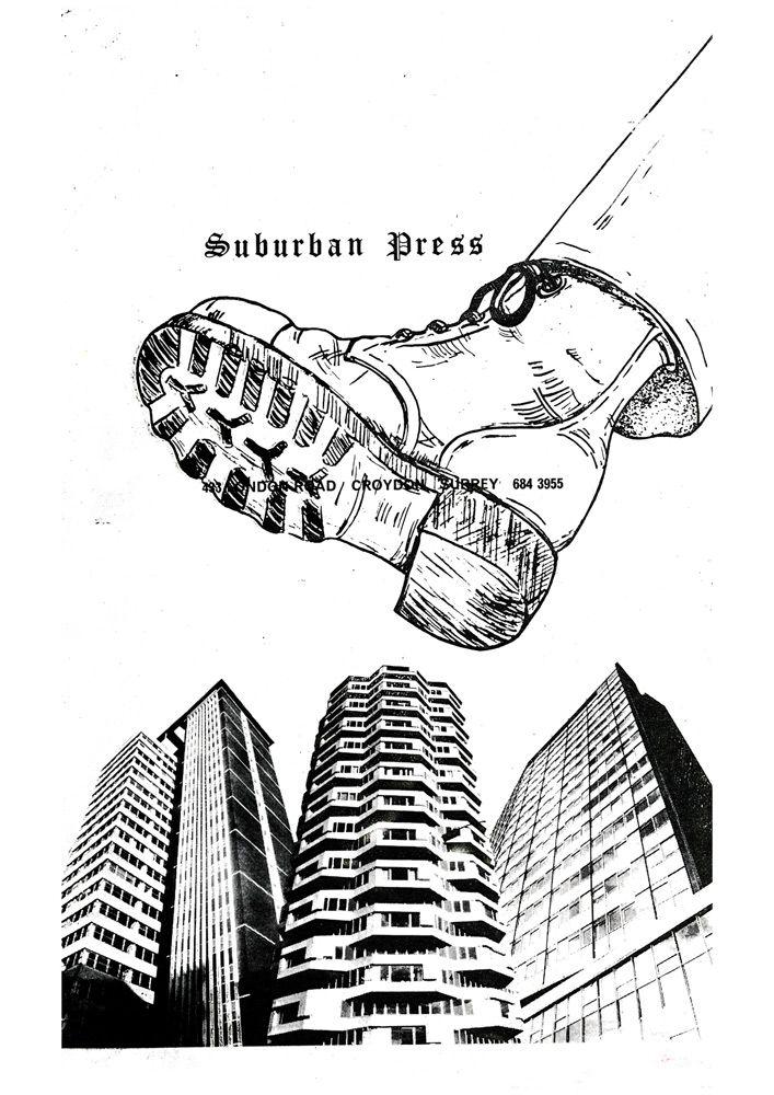 Jamie Reid • jamiereid.org • Suburban Press Boot