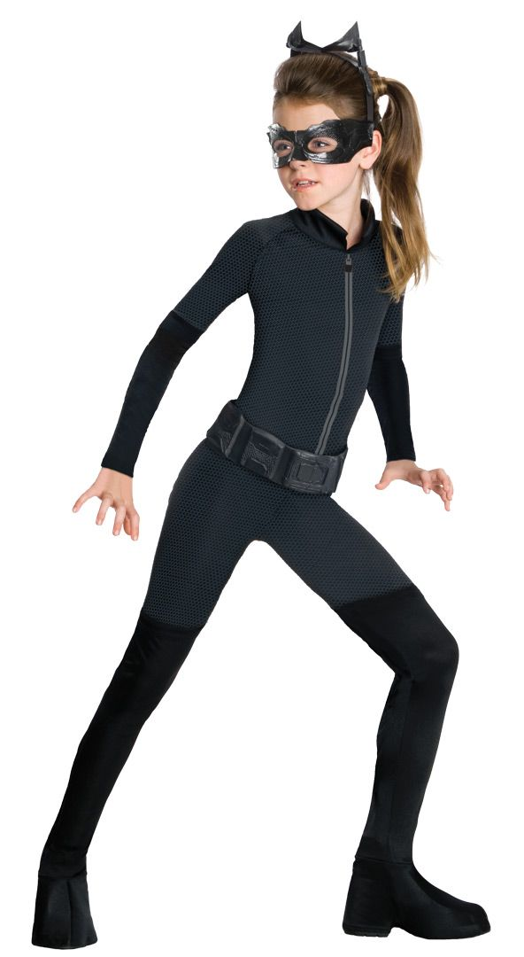Child Catwoman Fancy Dress Super hero Costume for Girls Batman Costume parties. Comic Book Costumes, DC Comic Costumes & Licensed Dark Knight Fancy Dress at Low Prices.