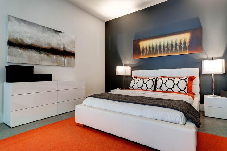 400 DOWD - Condos modernes au Quartier International    Chambre à coucher/Bedroom