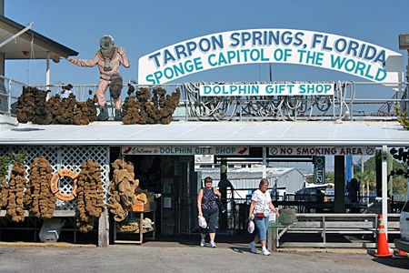 Tarpon Springs, FL.  Sponge Docks.  Greek Food. (2000 & 2001 to visit Michelle's hometown.  Recent years as a Floridian)