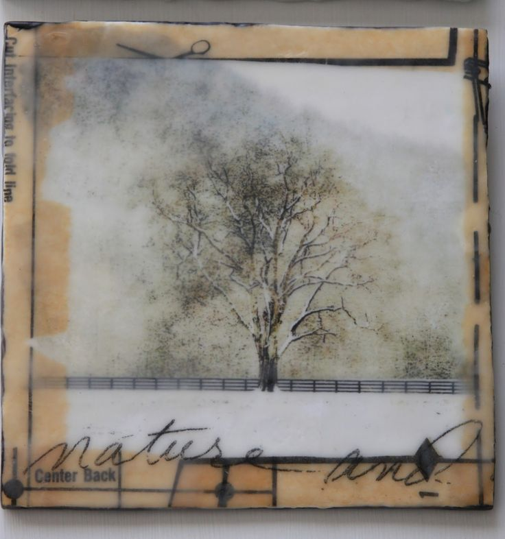erin's art and gardens: encaustic art