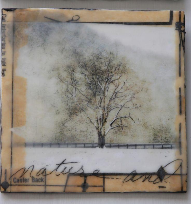 erin's art and gardens: encaustic art