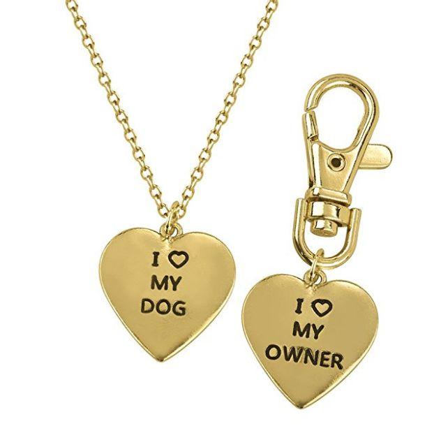 Luxurious Fashion i love my dog Collar Heart Keychain – Urban Flanders