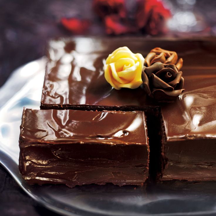 This stylish chocolate dessert recipe is perfect for afternoon tea