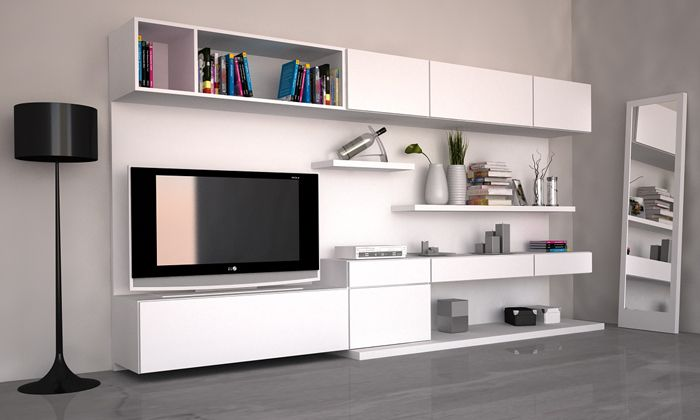 Modulor - mueble tv + guardado  www.rodenmobel.com