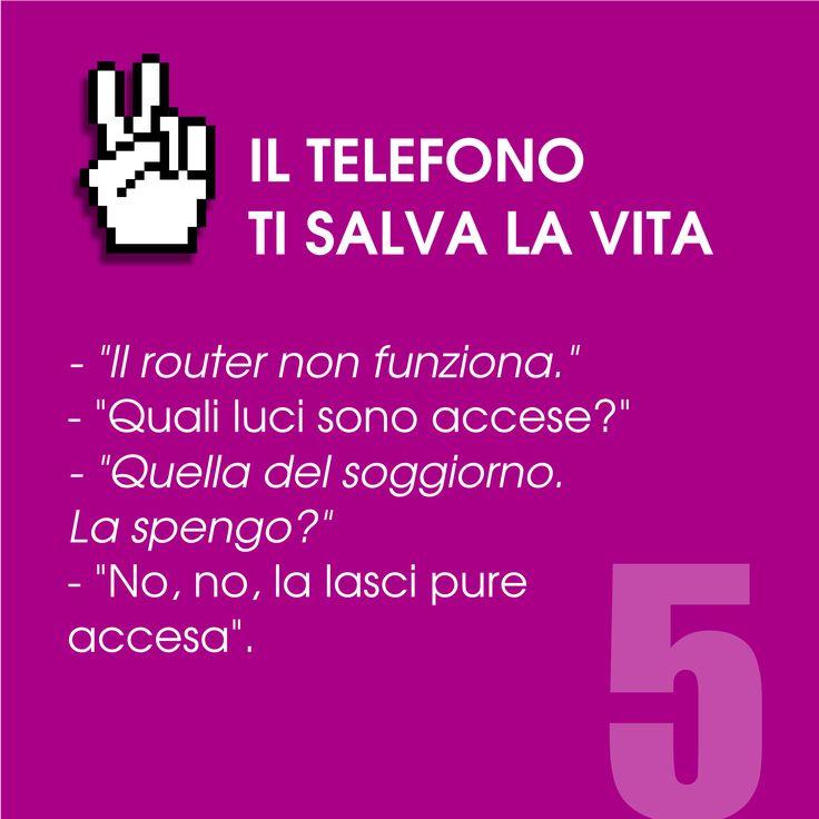 Il telefono ti salva la vita n. 5