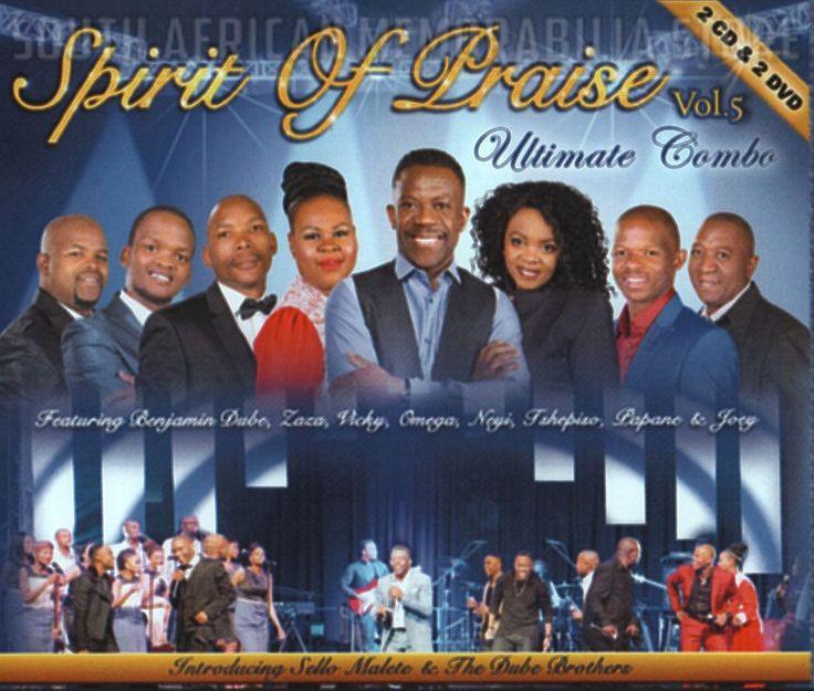 SPIRIT OF PRAISE 5 - Benjamin Dube - South African Gospel Double CD DVD *New*