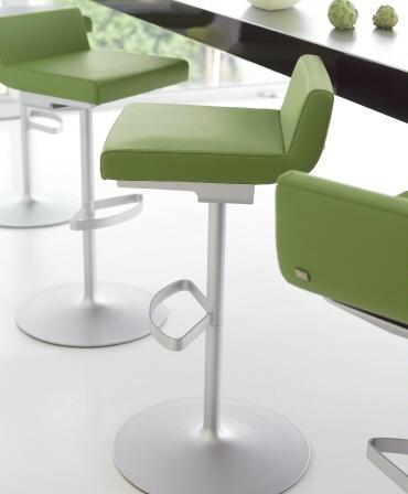 Rolf Benz | 620 | bar stool #Green #Color #Leather #kokwooncenter #Design #201605