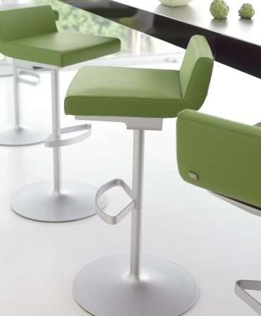 Rolf Benz | 620 | bar stool #Green #Color #Leather #kokwooncenter #Design #201605