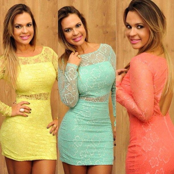 www.millagomes.com.br/produto/vestido-renda-varias-cores/: Things To, Coisa Para