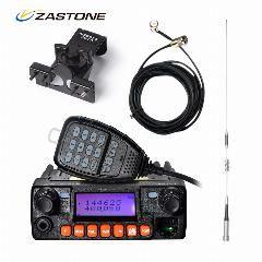 [ $25 OFF ] Zastone Mp320 Car Walkie Talkie Third-Band Vhf Uhf Mini Mobile Radio Hf Transceiver Two Way Ham Radio For Hunting Radio Station