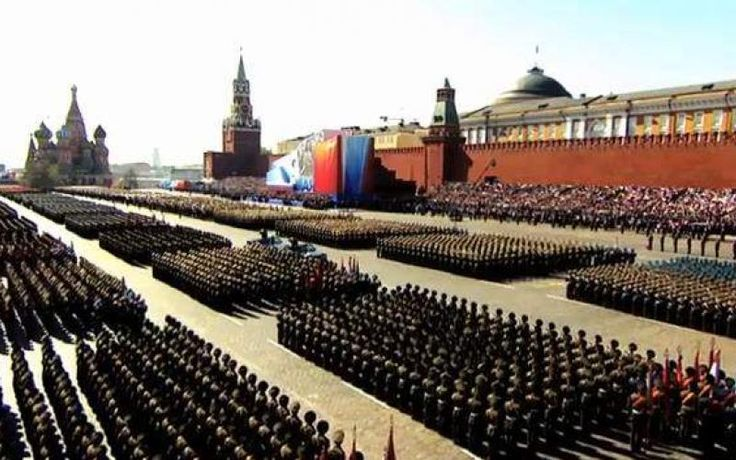 Bildergebnis für Red square Miltär parade